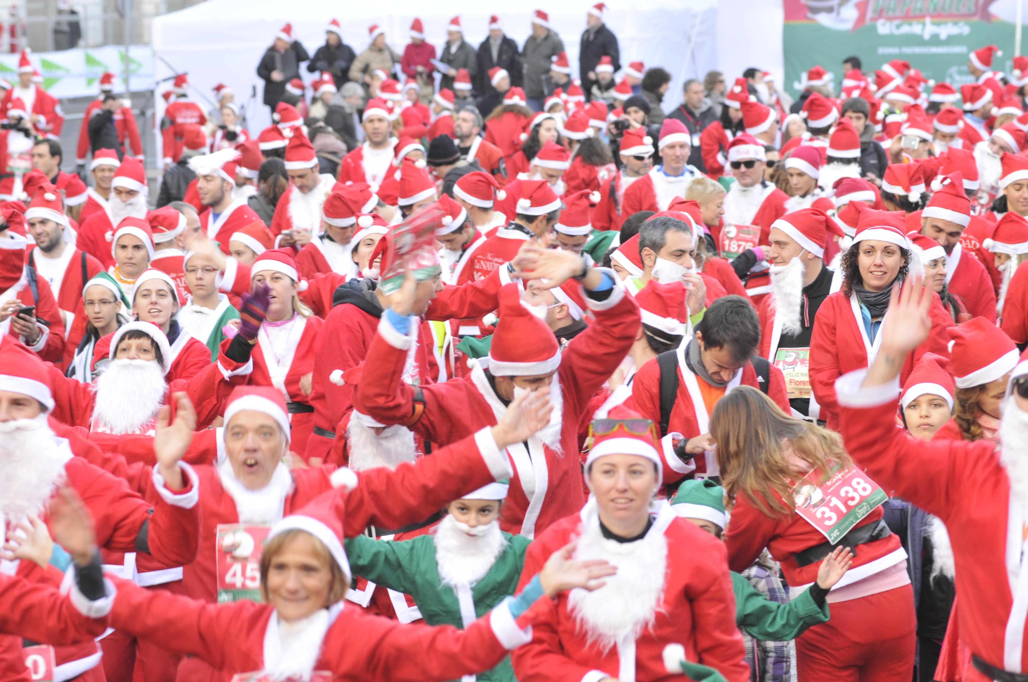 III Carrera de Papá Noel