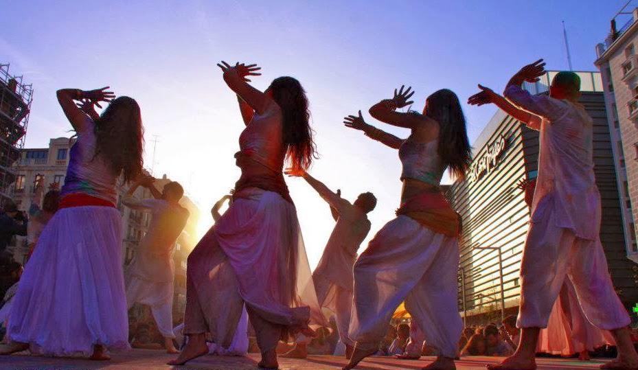 Bollywood en HoliMadrid2015