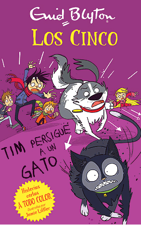 Los Cinco. Tim persigue a un gato
