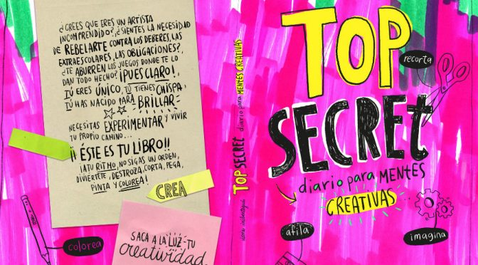 libro creativo Top Secret
