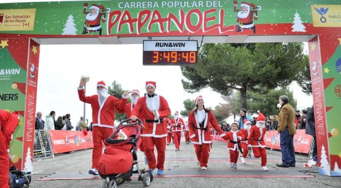 ¡Corre Papá Noel, corre!