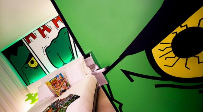 Hotel para niños peliculeros: Dormirdcine cooltural rooms