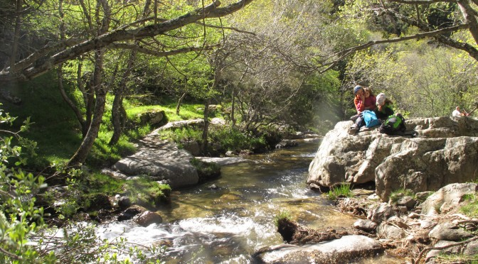 Ruta a la cascada del Purgatorio con niños
