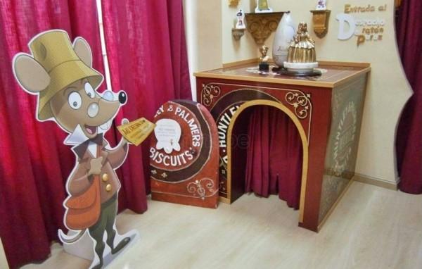 Caja de galletas del Ratón Pérez