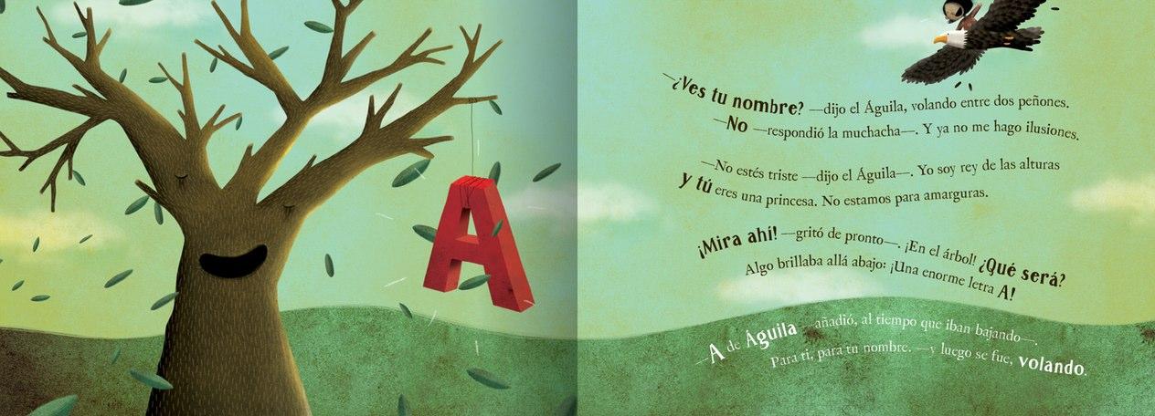 Libro infantil La niña/o que pedió su nombre