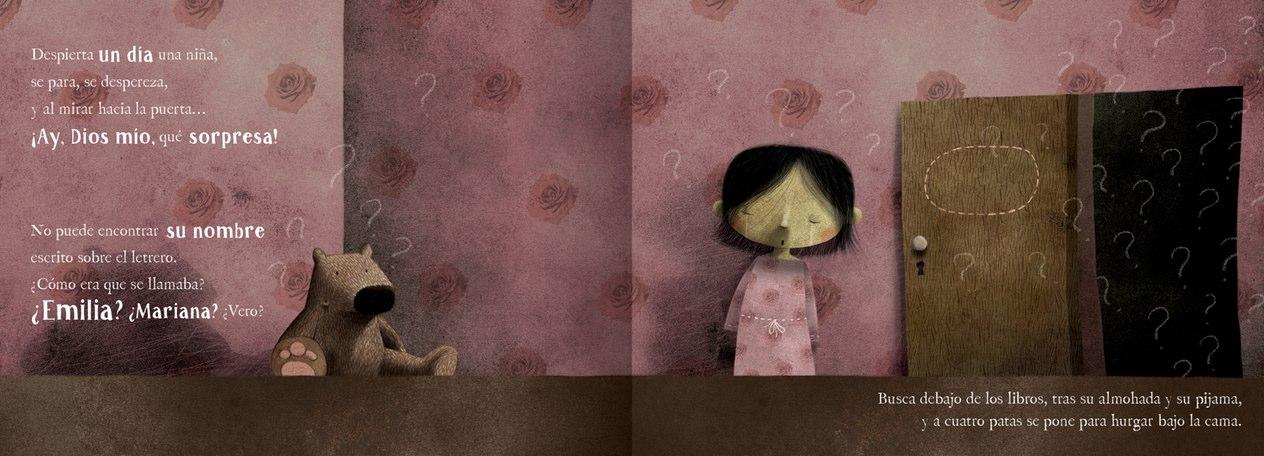 Libro infantil La niña/o que perdió su nombre