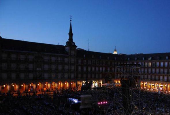 Flamenco en la Plaza Mayor