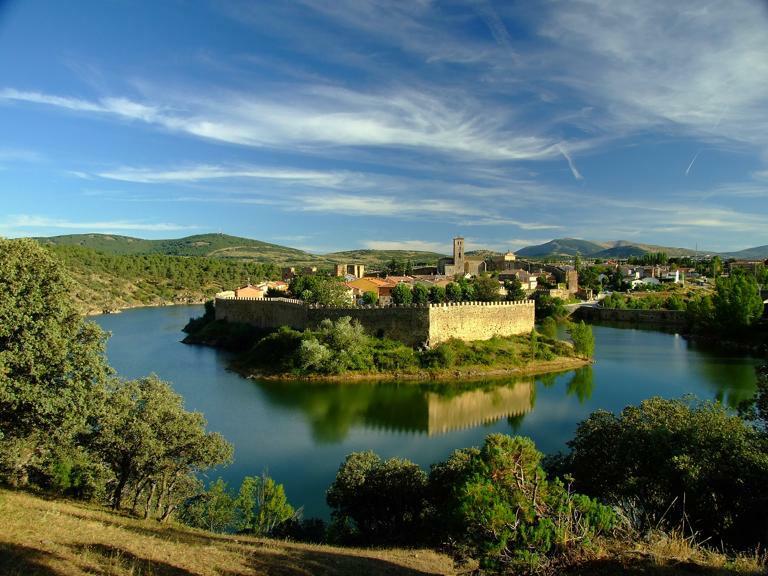Pueblo medieval de Buitrago de Lozoya.