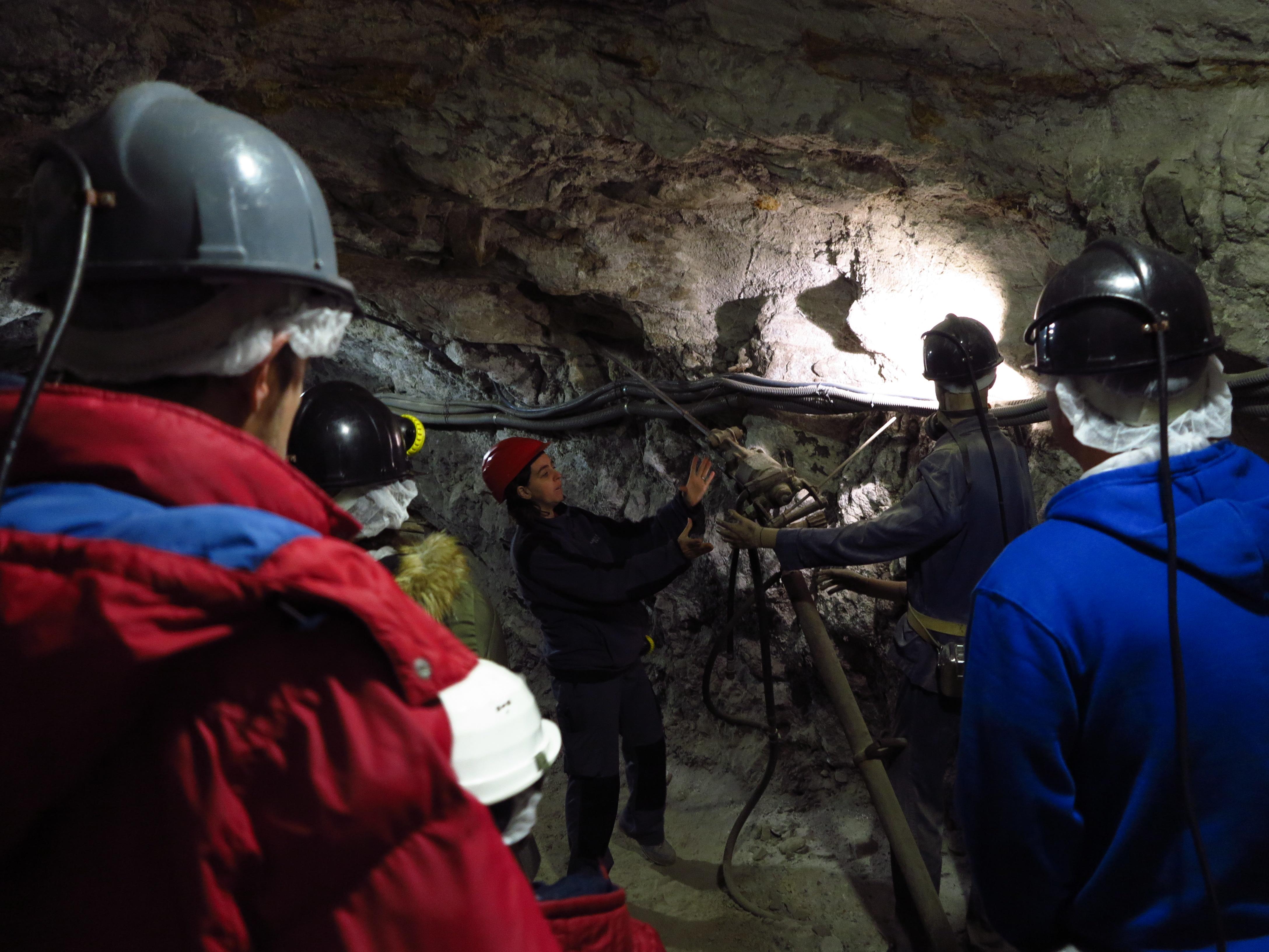 Interior del Minero de Escucha ©Jose Ramon Aguirre