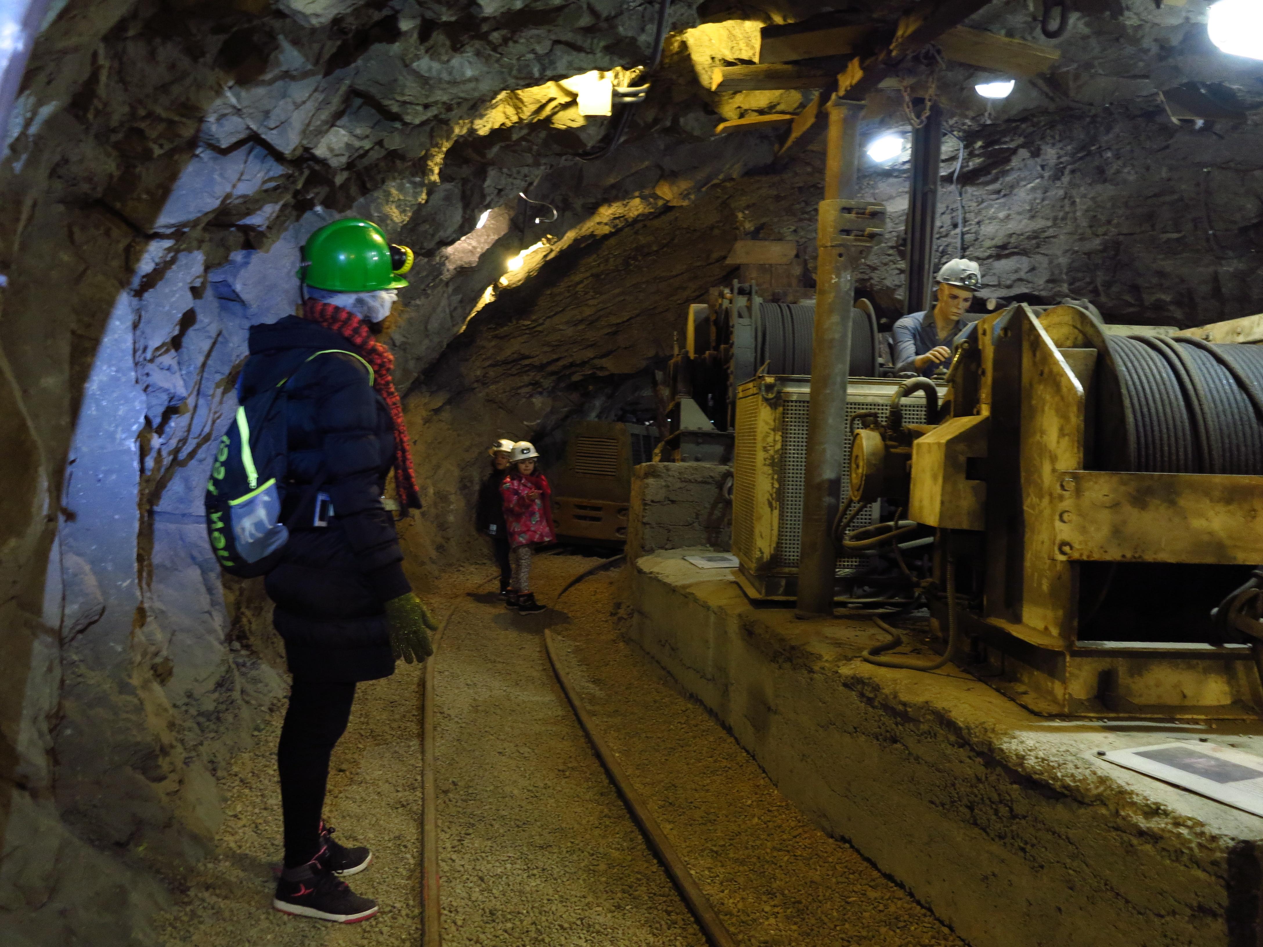 Interior del Museo Minero de Escucha ©Jose Ramon Aguirre