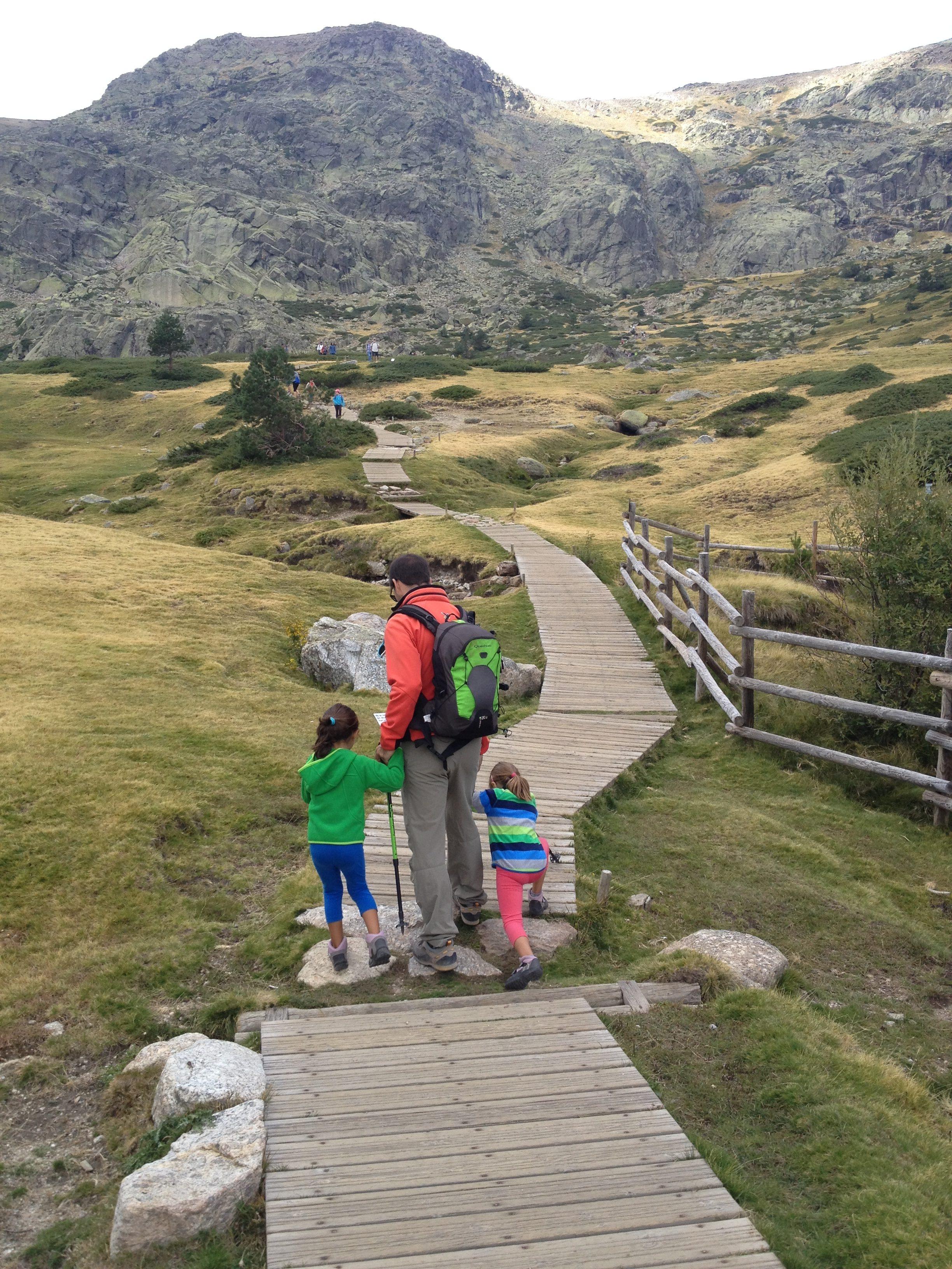 Hacia el glaciar de la Ruta de la Laguna Grande Peñalara ©Jose Ramón Aguirre