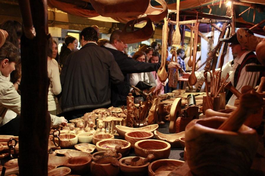 Mercado del Quijote en Alcalá de Henares.