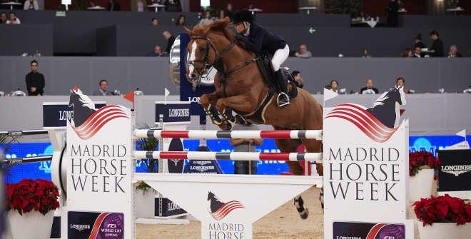 Madrid Horse Week. Campeonato de salto