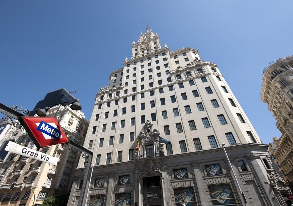 Edificio telefónica de Madrid