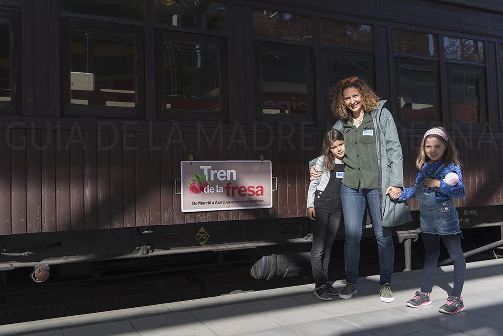 Precioso tren histórico de de madera ©JRAguirre