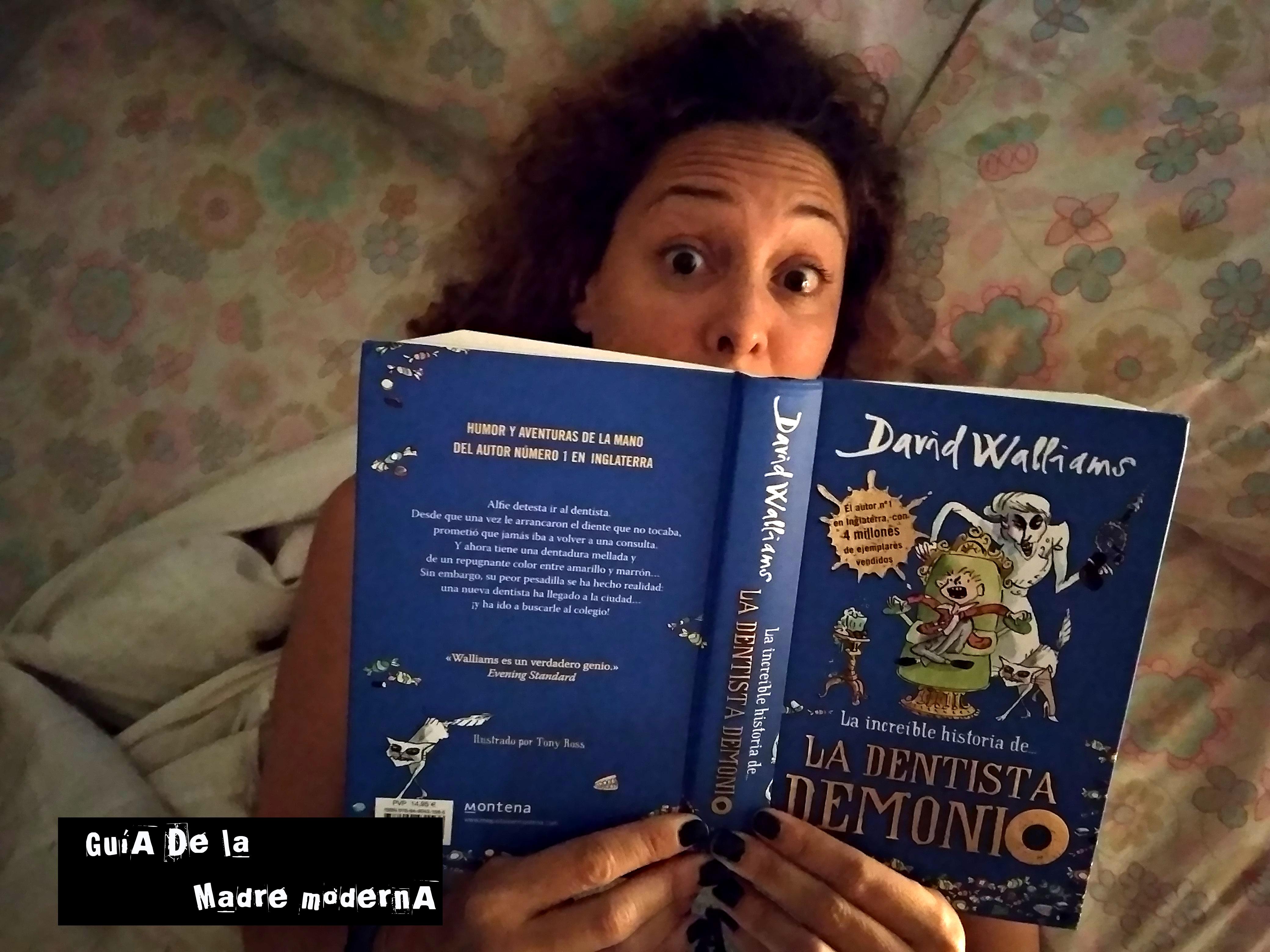 Libro infantil La dentista demonio @JRAGuirre
