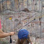 Camino senderista en la sierra de Madrid con niños