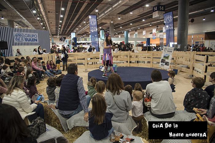 Actividades para niños en el Madrid Horse Week. ©Jose Ramon Aguirre