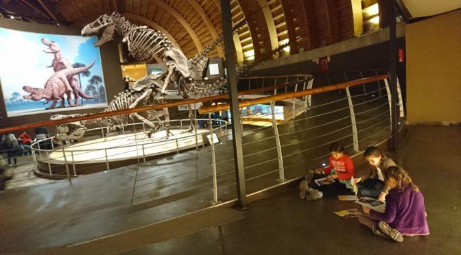 Visita al MUJA o Museo del Jurásico de Asturias con niños