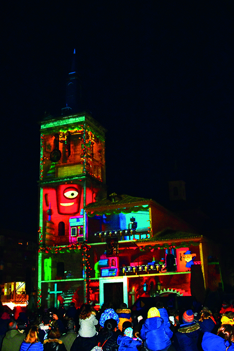 Espectáculos de luz y sonido en Torrejón de Ardoz en Navidad @josedsacristan
