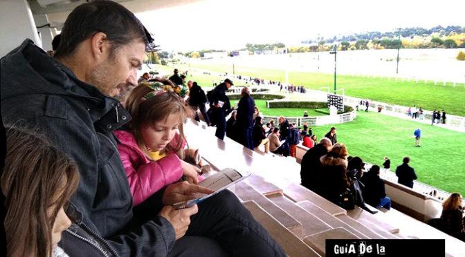 El Hipódromo de la Zarzuela con los niños. Carreras para niños