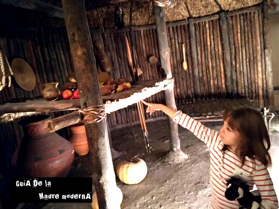 Cabañas indígenas en el Museo de América de Madrid.© Patricia Fernández