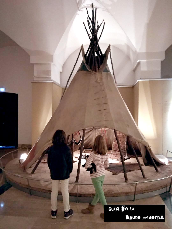 Museo de América de Madrid con niños