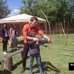 Taller de tiro con arco en Arqueopinto ©José Ramón Aguirre