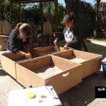 Taller de arqueología para niños en Arqueopinto ©José Ramón Aguirre