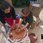 Ceramica en el Parque de la prehistoria de Arqueopinto ©José Ramón Aguirre