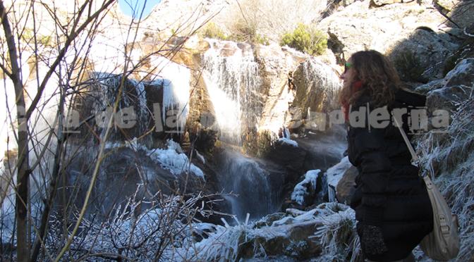 Ruta a la cascada más alta de Madrid. La Chorrera de los Litueros