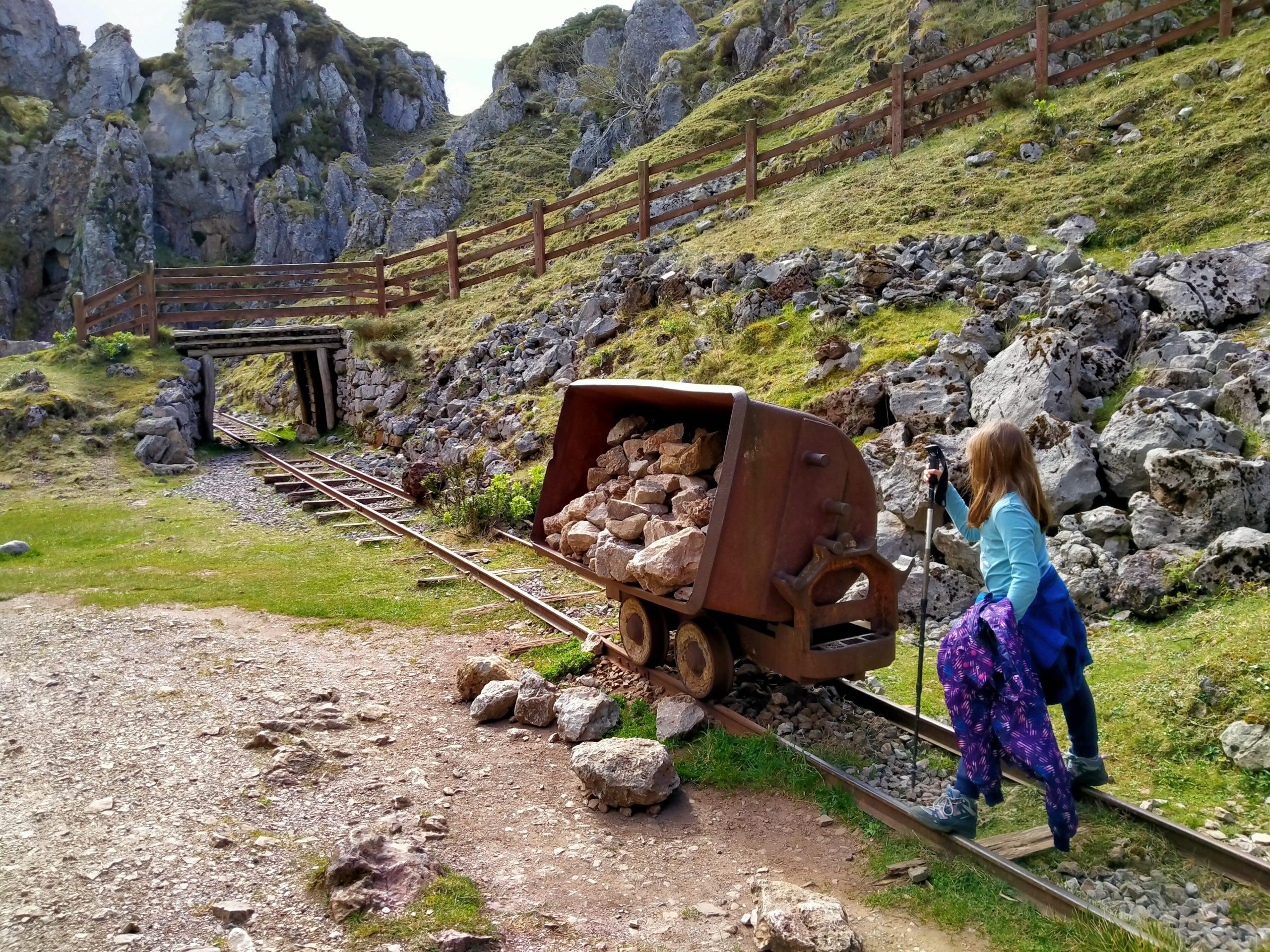 Ruta de los Lagos de Covadonga con niños