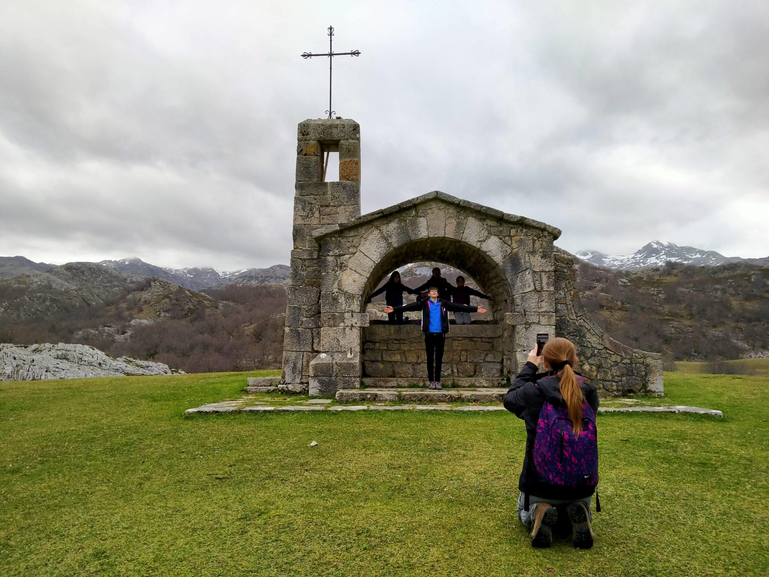 Ermita de los Pastores. Picos de Europa. Asturias