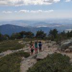 Ruta de los 7 picos por Navacerrada con los niños