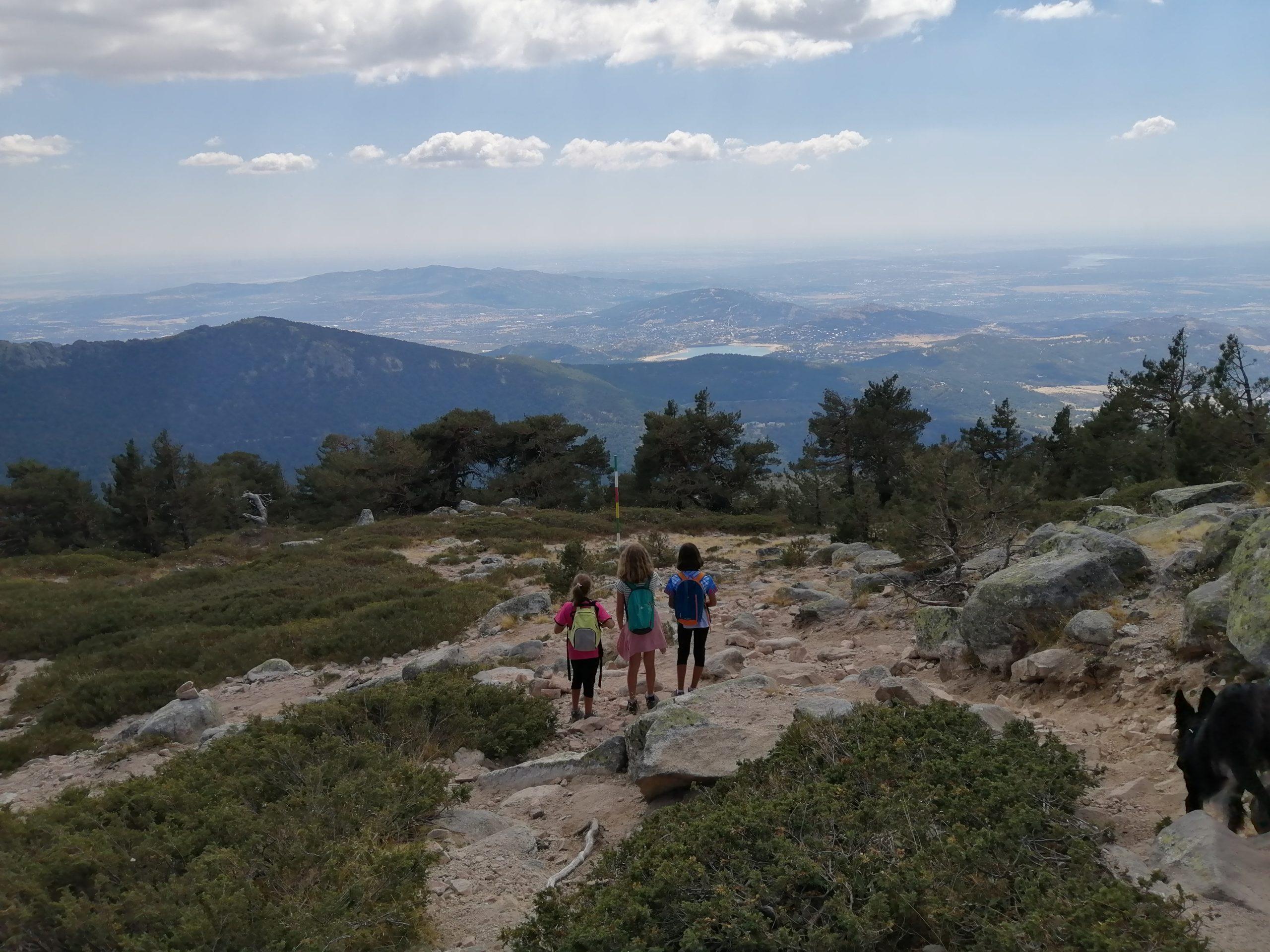 Ruta de los Siete Picos en Navacerrada