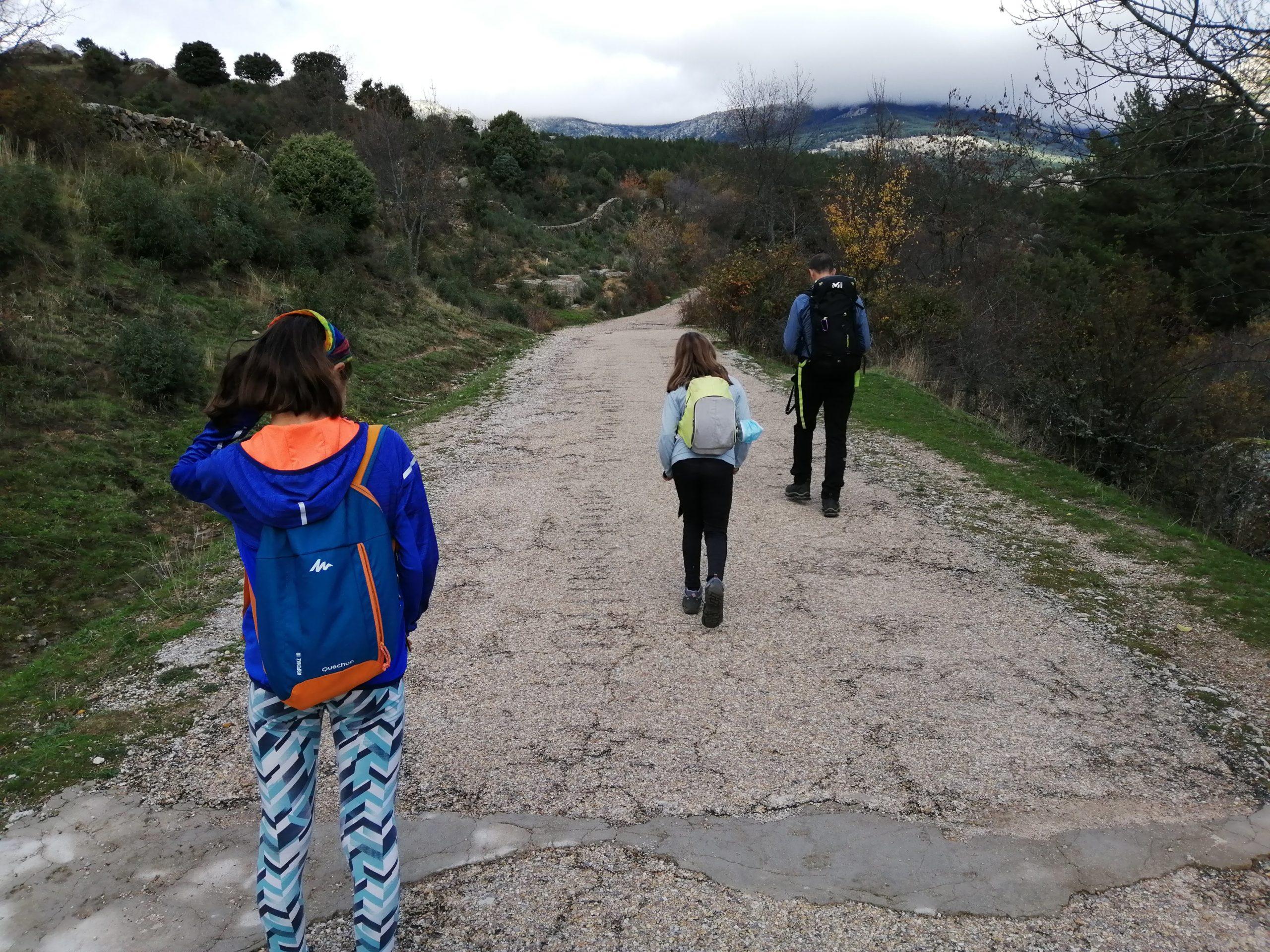 Camino hacia la Charca Verde. La Pedriza. ©Patricia Fernández