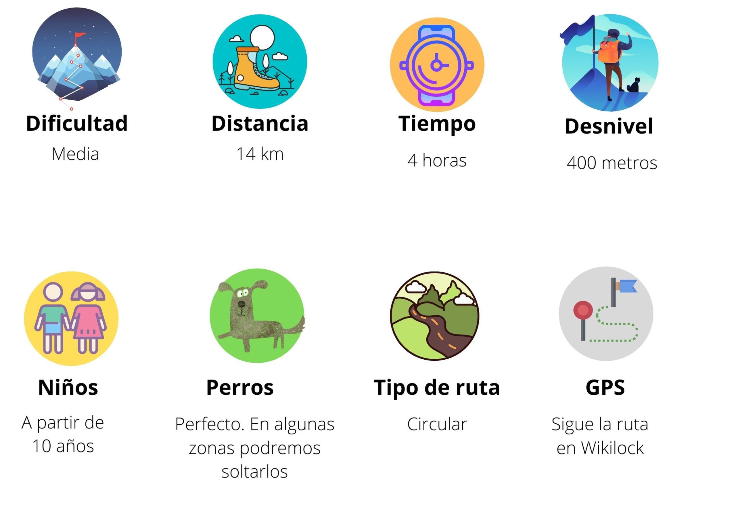Cuadro ruta del abedular de Canencia ©Patricia Fernández