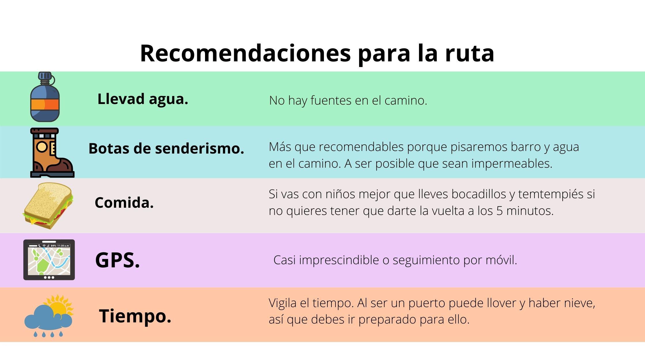 recomendaciones senderismo ©Patricia Fernández