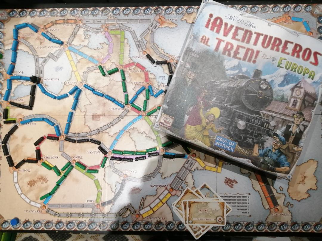 Aventureros al tren, uno de los juegos familiares más divertidos